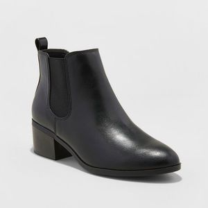 A New Day Black Chelsea Boots